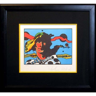 "Pop Art Peter Max ""Prince Caspian of Narnia"" Signed Numbered Lithograph Art Print For Sale"