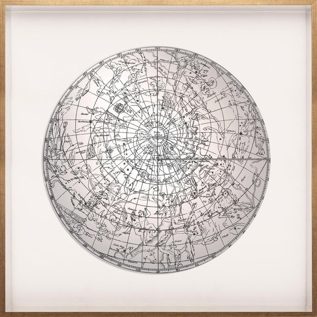 Contemporary North Constellations, Framed Artwork For Sale - Image 3 of 3