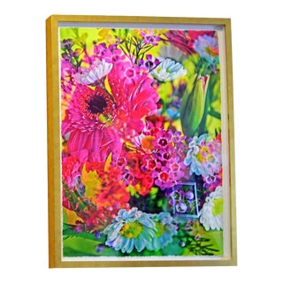 "Johnny Nicoloro ""Super Tuesday Bouquet"" Original Photo Artwork For Sale"