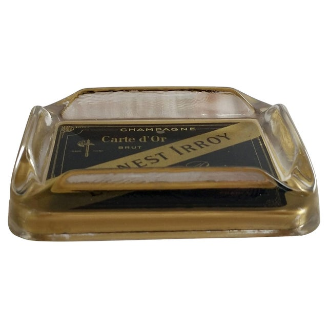 French Champagne Ashtray - Image 3 of 4