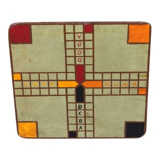 "Original Painted Game Board with ""ABCD"""