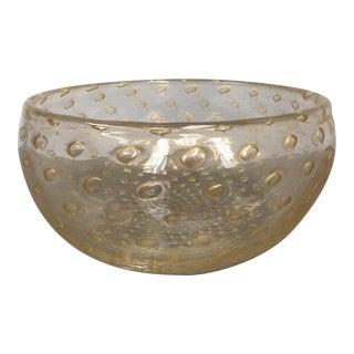 Tiffany & Co. Venetian & Gold Bullicante Bowl
