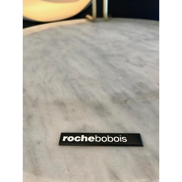 The Bijou Coffee Table in Marble and Matte Gold by Roche Bobois, 2018 For Sale - Image 12 of 13