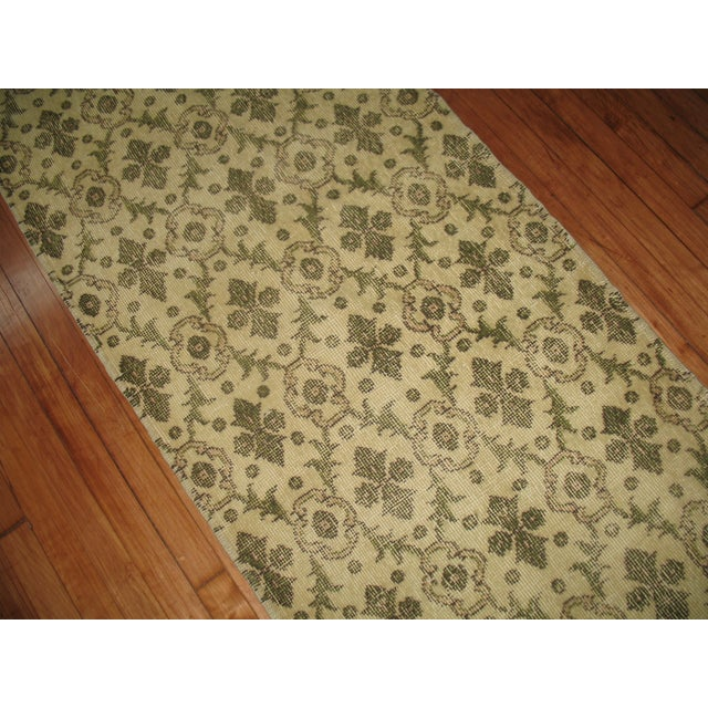Islamic Turkish Runner - 2′6″ × 7′ For Sale - Image 3 of 4