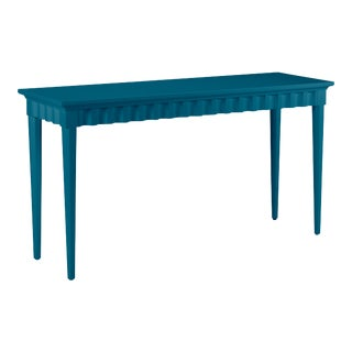 Casa Cosima Flutter Console, Blue Danube For Sale