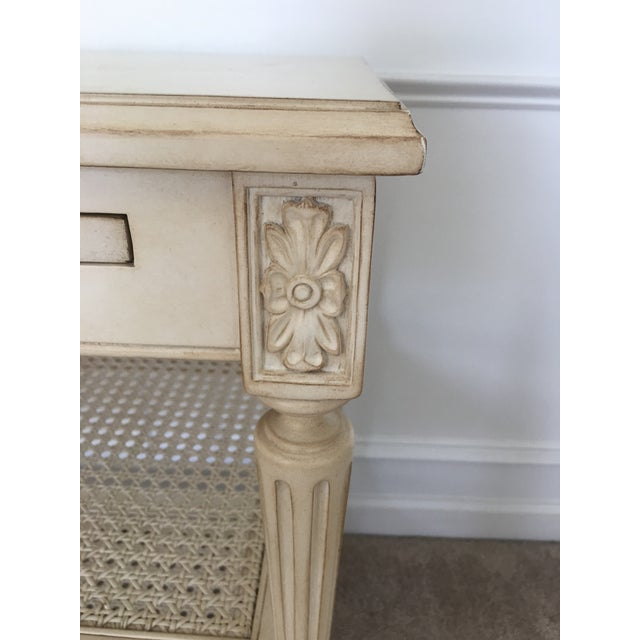 Ethan Allen Elise Side Table - Image 6 of 8
