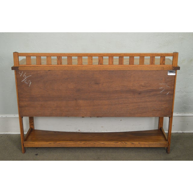 Richardson Bros Mission Style Oak Sideboard Chairish - Richardson brothers bedroom furniture
