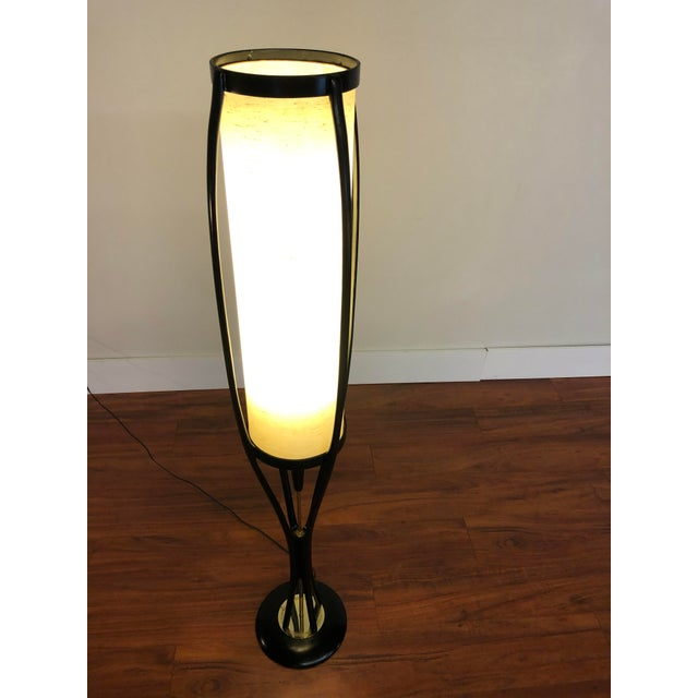Vintage Modeline of California mid century sculptural floor lamp. This beauty dates back to around the 1960s and has...