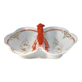 Lobster Faïence Serving Platter For Sale