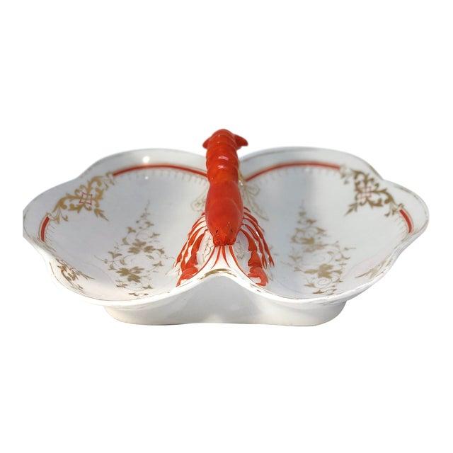Lobster Faïence Serving Platter For Sale
