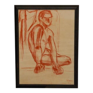 Original Sketch by Pierre Dohet For Sale