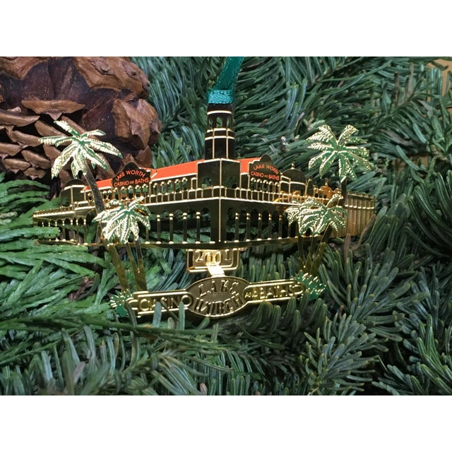 2000 - 2009 Lake Worth Casino Christmas Tree Ornament For Sale - Image 5 of 6
