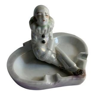 Vintage Pierrot Figure Ashtray For Sale
