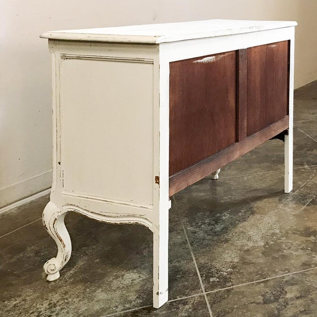 Antique Country French Provincial Painted Commode For Sale - Image 11 of 12
