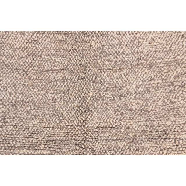 "Beni Ourain Moroccan Rug - 3'5"" x 4'11"" - Image 2 of 4"