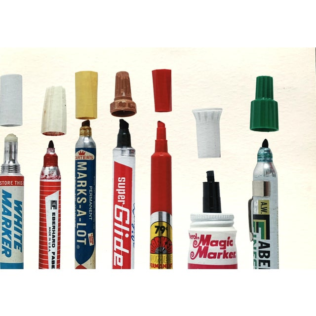 """Off-white Contemporary Limited Edition Art Print """"Tools of Criminal Mischief: Markers Edition"""" by Roger Gastman For Sale - Image 8 of 12"""