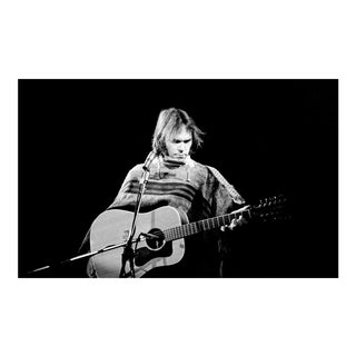 1976 Original Giclee Photograph of Neil Young For Sale