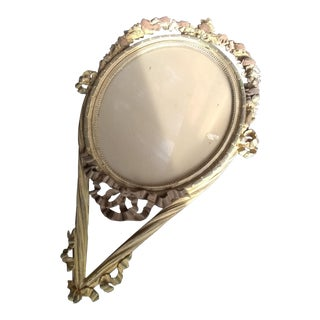 Handcarved French Mirror For Sale