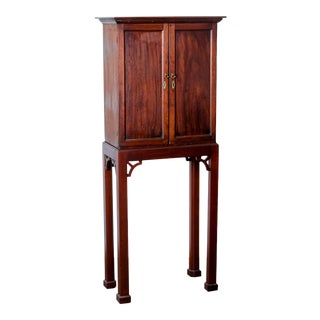 Georgian Spice Cupboard on Stand For Sale