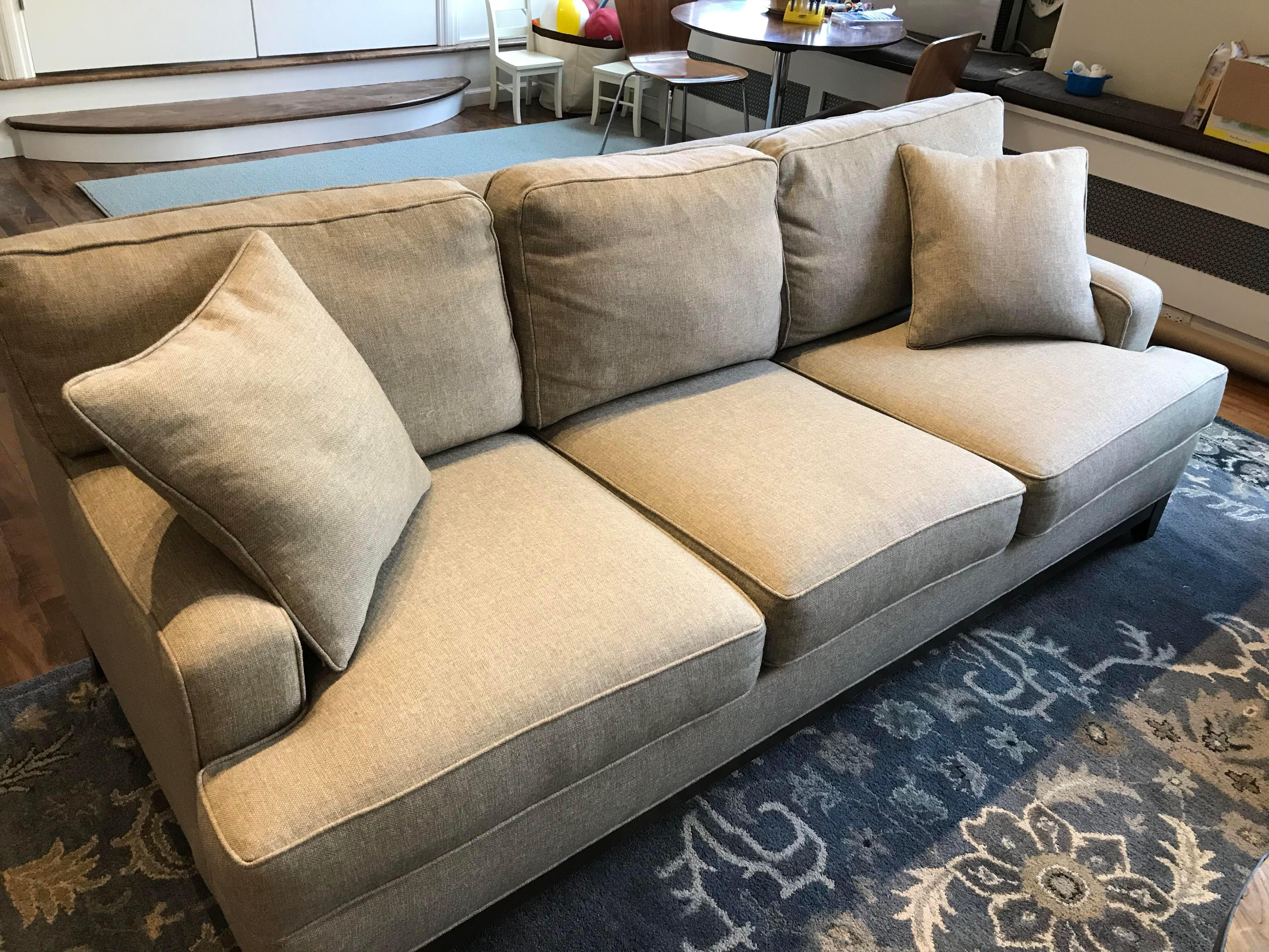 Ethan Allen Arcata Sofa Chairish