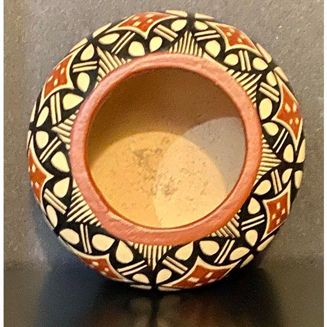 Native American Vintage Pot by Jemez Pottery For Sale - Image 3 of 5