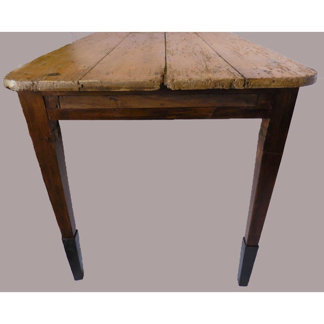19th Century Pine Table For Sale - Image 4 of 8