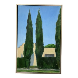 Framed Painting of a Hollywood Bungalow For Sale
