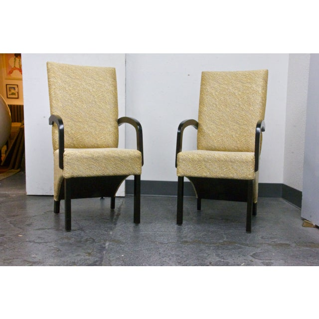 Custom Designed Chairs - A Pair - Image 2 of 5