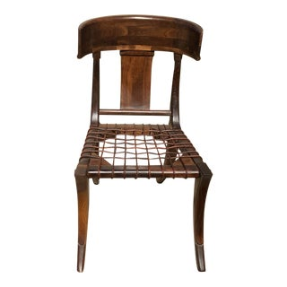 Mid-Century Style Klismos Dining Chair For Sale