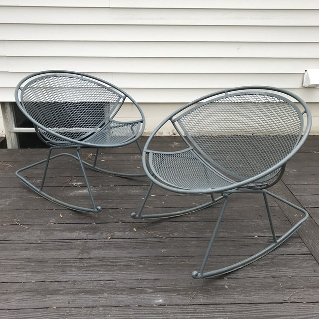 Salterini Rocking Chairs, a Pair For Sale - Image 12 of 12