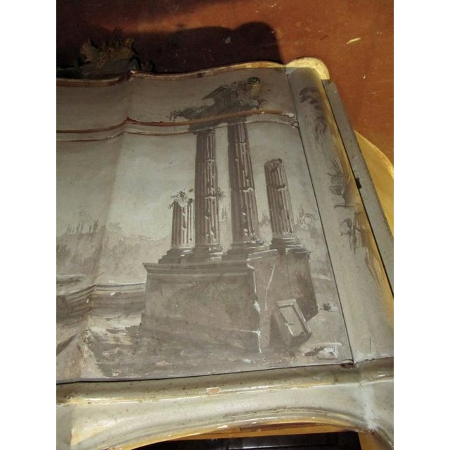 Neoclassical Revival Italian Trompe L 'oeil Sideboard For Sale - Image 3 of 7