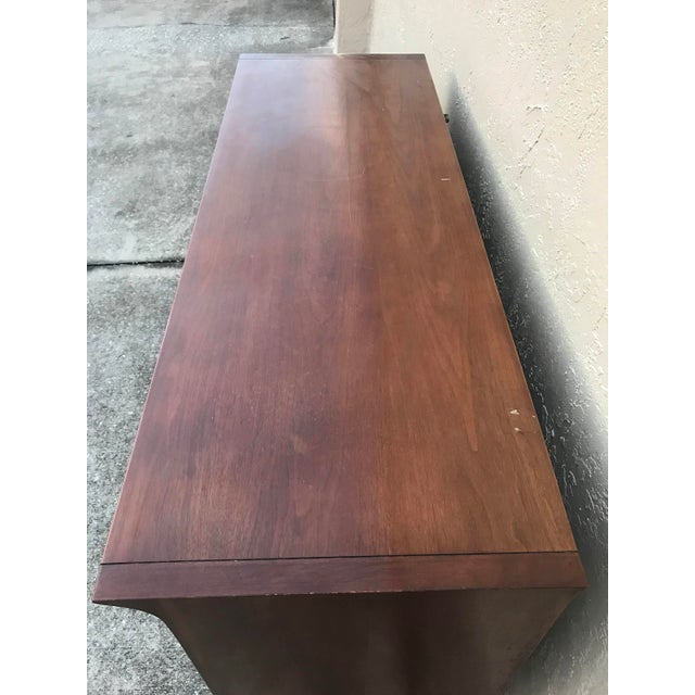 Mid-Century Modern John Van Koert for Drexel Profile Walnut Dresser For Sale - Image 3 of 6