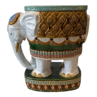 Terra Cotta Elephant Planter For Sale