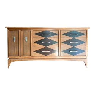 "1960s Mid-Century Modern Kent Coffey ""The Wharton"" Dresser"