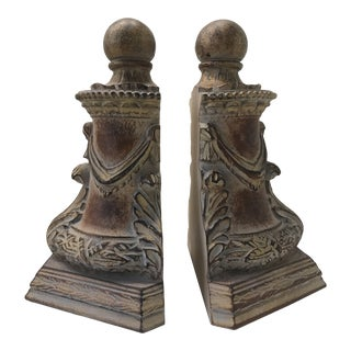 Italian Column Bookends - A Pair For Sale