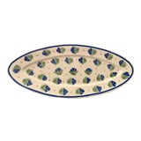 Image of Antique French Provincial Henriot Quimper Faience Platter For Sale