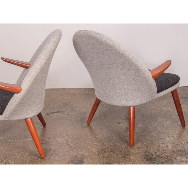 Teak Kurt Olsen Easy Chairs - a Pair For Sale - Image 7 of 11