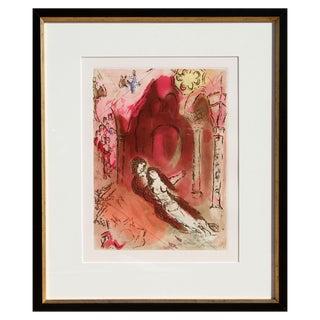 Marc Chagall Etching with Aquatint - Granada