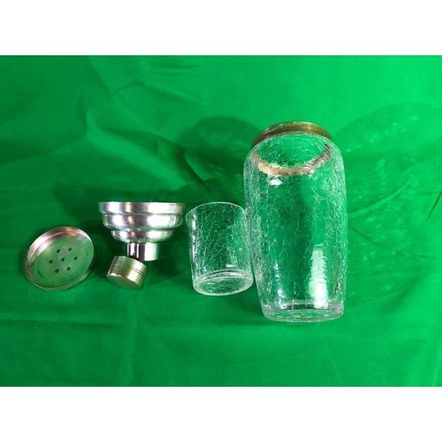 Vintage 1950's Cocktail Shaker For Sale - Image 4 of 10