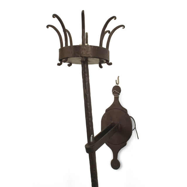 Italian 20th Century Italian Renaissance Style Large Wall Brackets Sconces - a Pair For Sale - Image 3 of 4