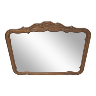 Country French Carved Mirror