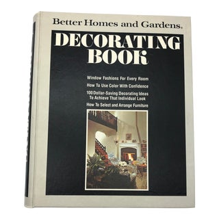 1975 Vintage Better Homes and Gardens Decorating Book For Sale