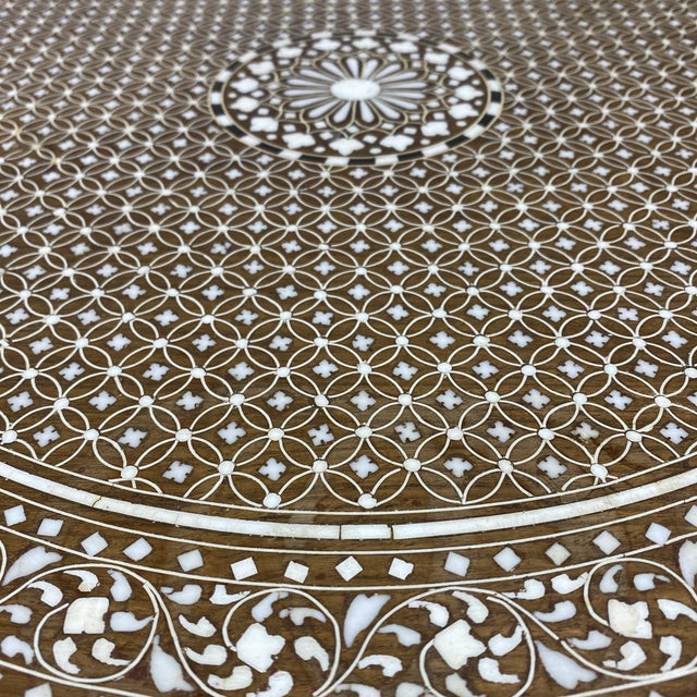 Anglo Indian Bone Inlay Side Tables - a Pair For Sale - Image 11 of 13