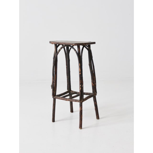 Antique Adirondack Twig Table For Sale - Image 4 of 11