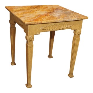 19th Century Italian Painted Table For Sale