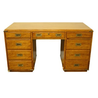 20th Century Campaign National Mt. Airy Writing Desk Preview