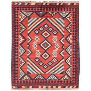 "Apadana - Fine Modern Persian Kilim, 5' x 6'4"""