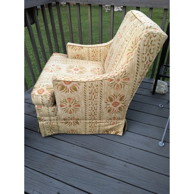Clyde Pearson Vintage Swivel Chair For Sale - Image 6 of 11