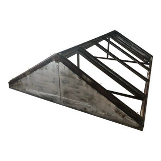 Antique Metal Skylight For Sale
