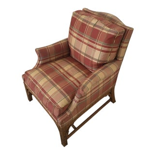 Plaid Side Chair